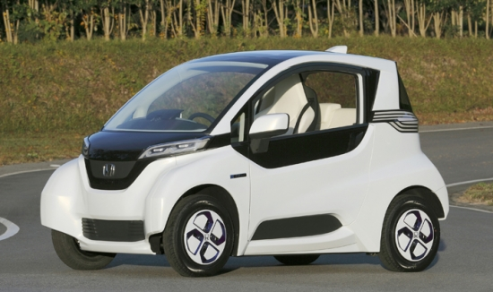 Honda present its electric microcar
