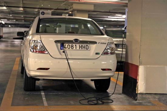 La recarga del coche eléctrico