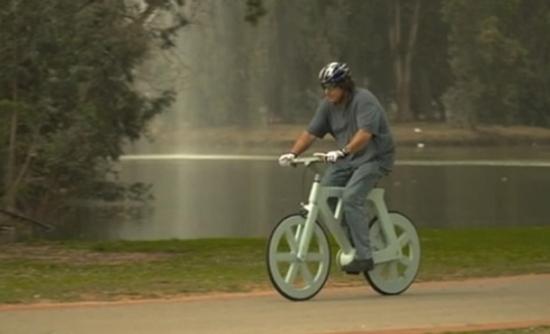 Gafni  - La bicicleta de cartón