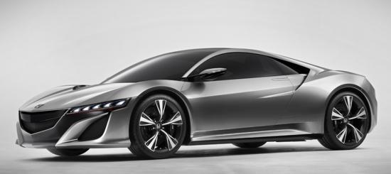 Impresionante Honda NSX