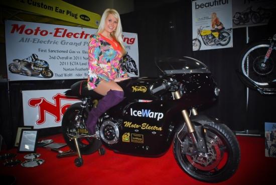 Moto Electra on Norton