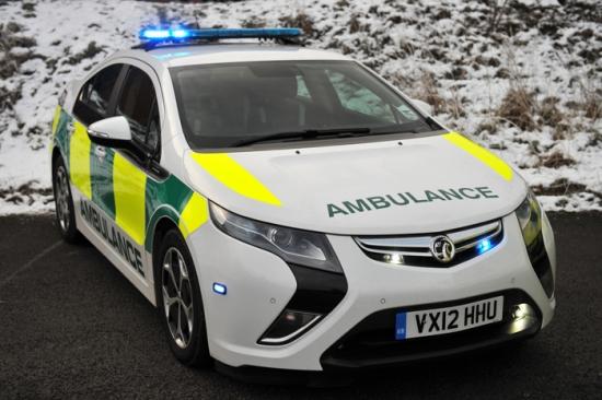 El Ampera hace de ambulancia