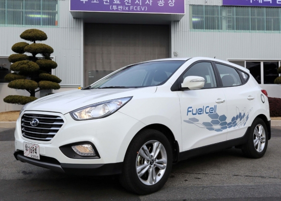 Hyundai starts assembly-line production of IX35 Fuel Cell
