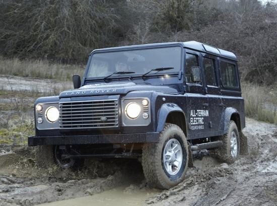 Siete Land Rover Defender Eléctricos