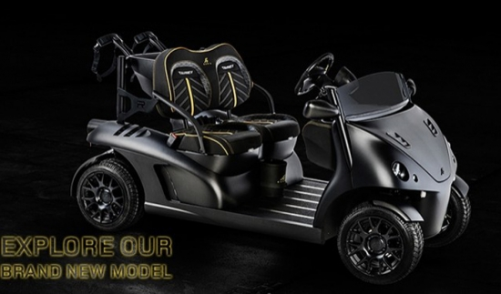 Garia Roadster Mansory Currus