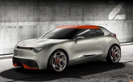 Kia provo, an exciting hybrid car