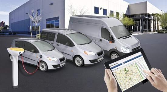 Grandes flotas de vehículos eléctricos