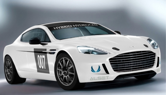 Aston Martin Rapide S híbrido hidrógeno