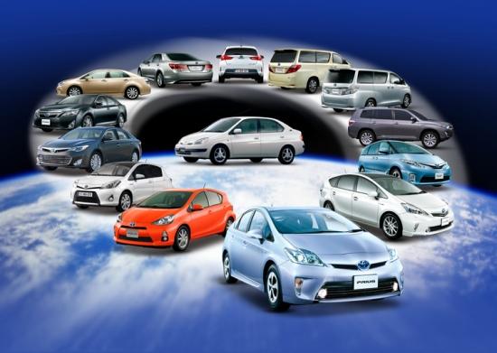 Toyota and Lexus hybrids