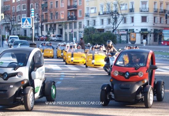 Madrid se moverá en eléctricos