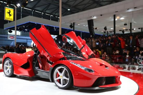 Ferrari Hybrid at Shanghai Motor Show