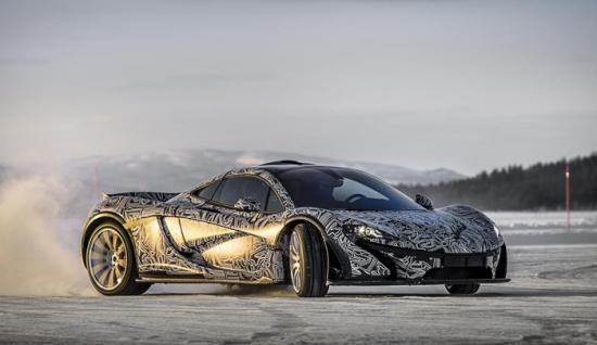 McLaren P1 continues test drives