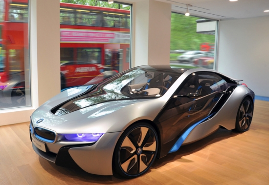 BMW UK reveals network for BMW i electric vehicles