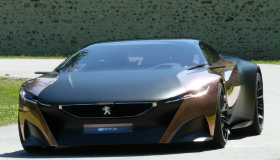 Peugeot Onyx Hybrid Concept Car at Goodwood
