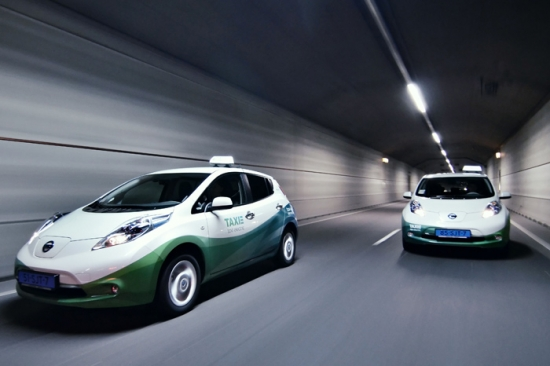 Nissan Leaf as a Taxi
