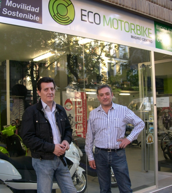 Ecomotorbike - nueva tienda en Madrid