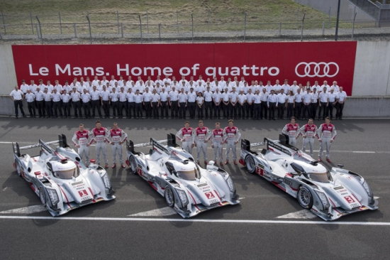 Audi at LeMans