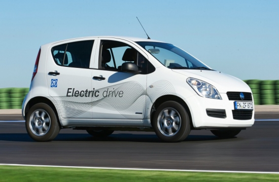 ZF expert in driveline electrification