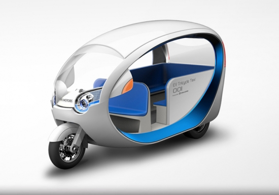 Japanese Terra Motors re-invent the Tuk-tuk