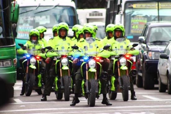 La policía de Bogotá con Zero Motorcycles