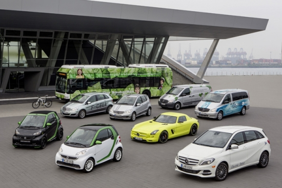 Mercedes-Benz leadership in electric cars