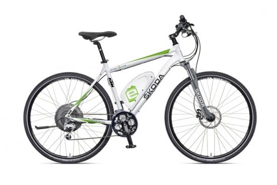 Primer bicicleta eléctrica de Skoda