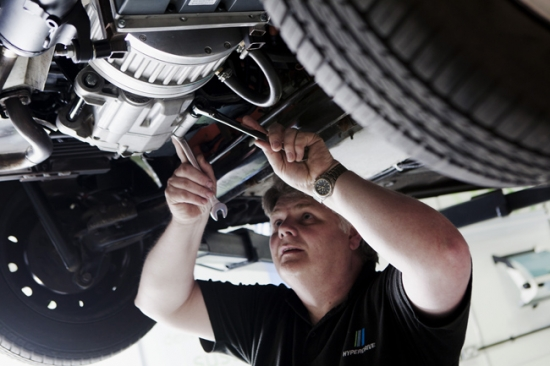 Hyperdrive: pequeño diesel para coches eléctricos