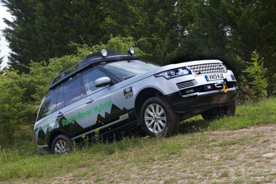 Range Rover lanza su gama híbrida