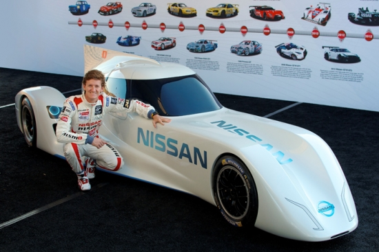 The Spaniard Lucas Ordoñez with the Nissan ZEOD RC