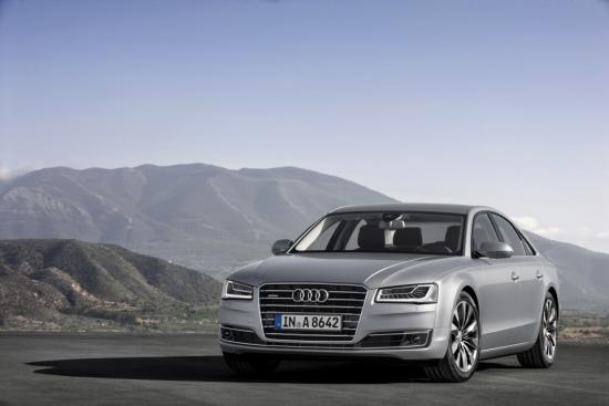 Nuevos Audi A8