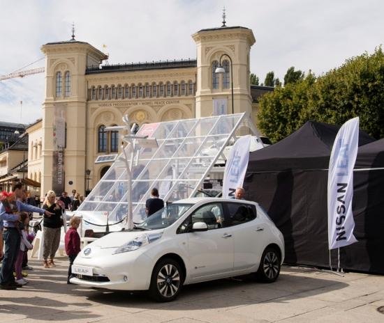 Oslo, mayor flota de vehículos eléctricos