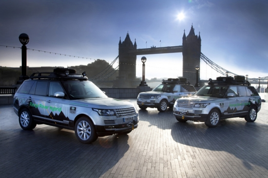 The Silk Trail with Range Rover Hybrid