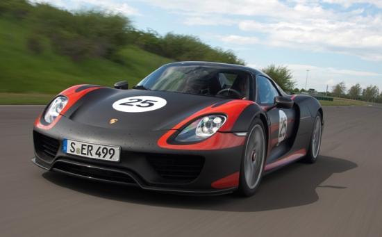 Porsche 918 Spyder world debut at Francfort