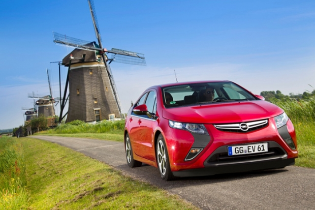 Vauxhall Ampera reduces price
