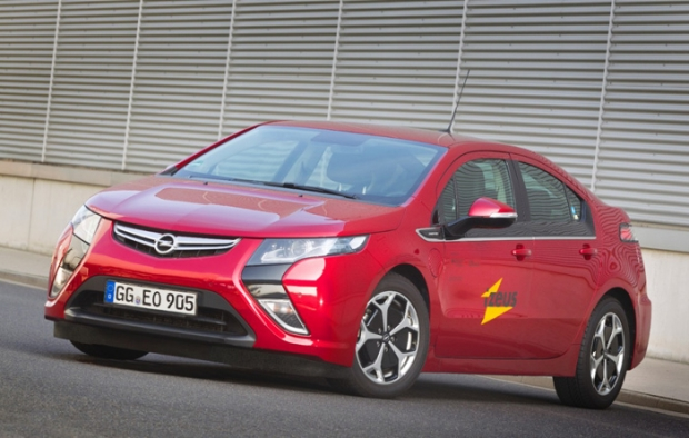 Proyecto iZEUS con Opel Ampera