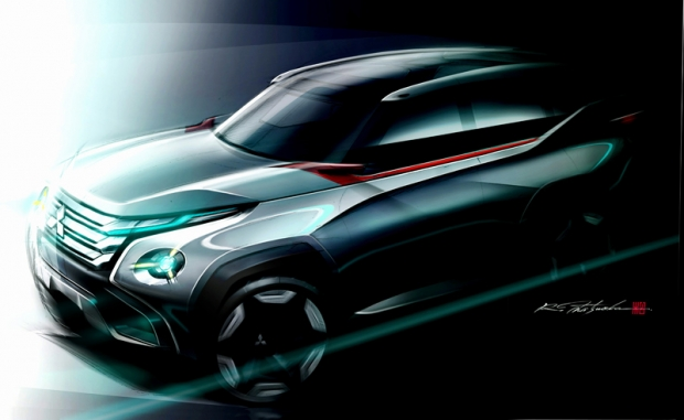 Mitsubishi unveil concept hybrid-plugin vehicles