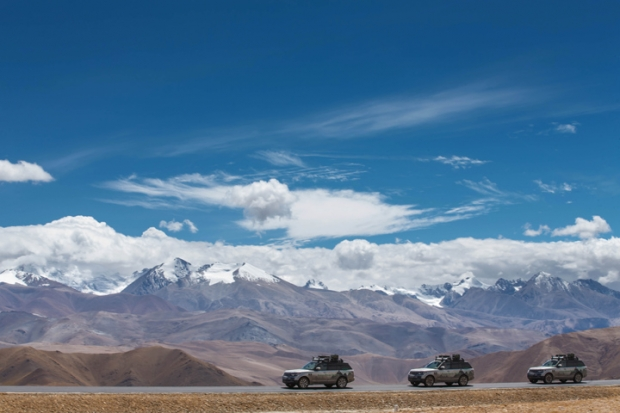 The Range Rover Hybrids completed Silk Trail