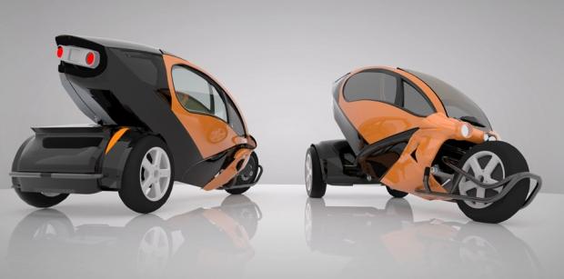 Voze, proyecto chileno de un triciclo eléctrico