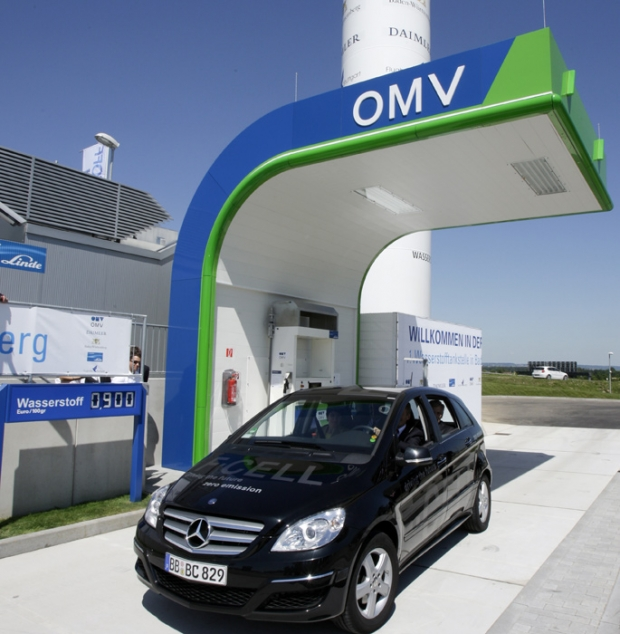 Hydrogen network from 15 to 400 filling stations