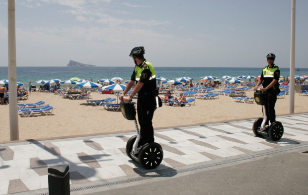 Segway con la Policia Local