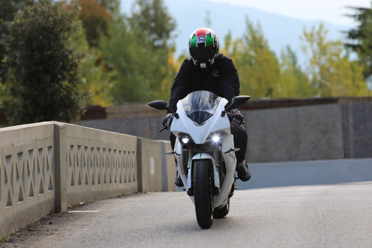 CRP Energica electric streetbike